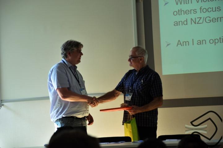 Prof. Oliver Röhrle and Dave Lowe